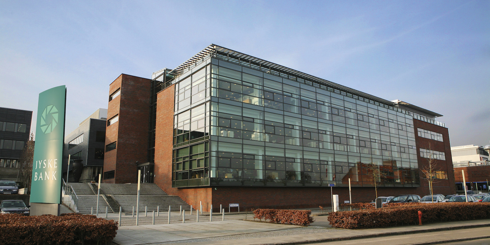 Jyske Bank headquarters Silkeborg
