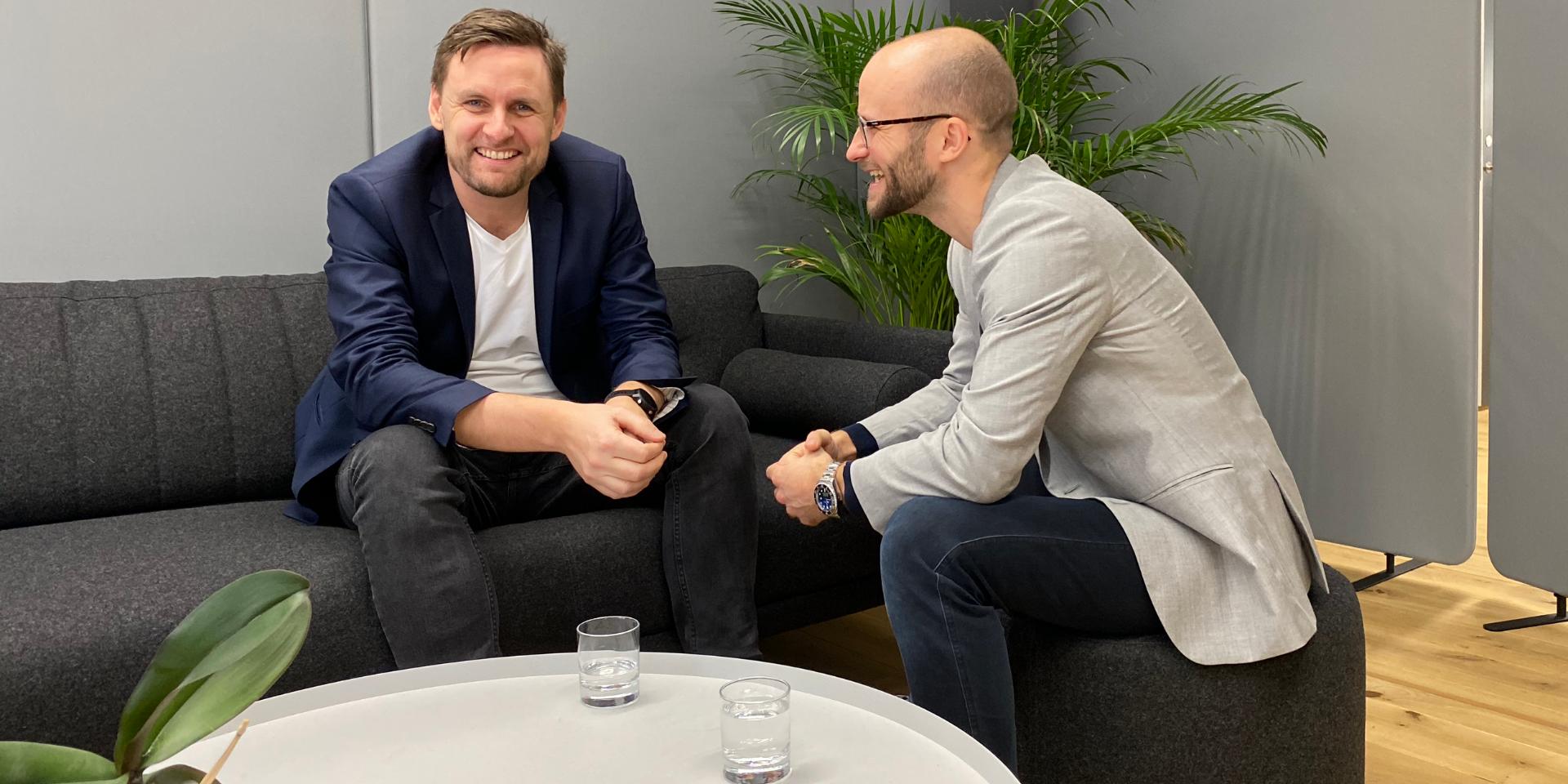 CEO Rune Mai and CSO Jonas Vogt Rasmussen